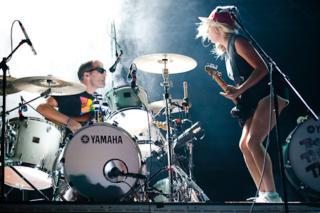 [ The Ting Tings @ Terraneo festival, �ibenik, 07/08/2012 ]