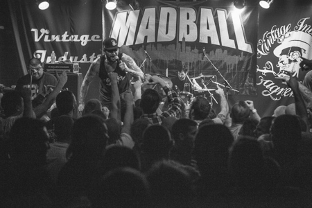 [ Madball @ Vintage Industrial Bar ]