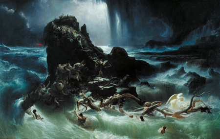 [ Francis Danby - The Deluge ]