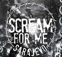 cover: KINO NAJAVA - SCREAM FOR ME SARAJEVO