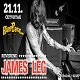 cover: James Leg @ Hard Place, Zagreb, 21/11/2019