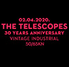 cover: The Telescopes - 30 Year Anniversary @ Vintage Industrial Bar, Zagreb, 02/04/2020