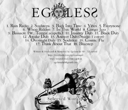 [ EGOLESS - Selected Works '09 - '12 ]